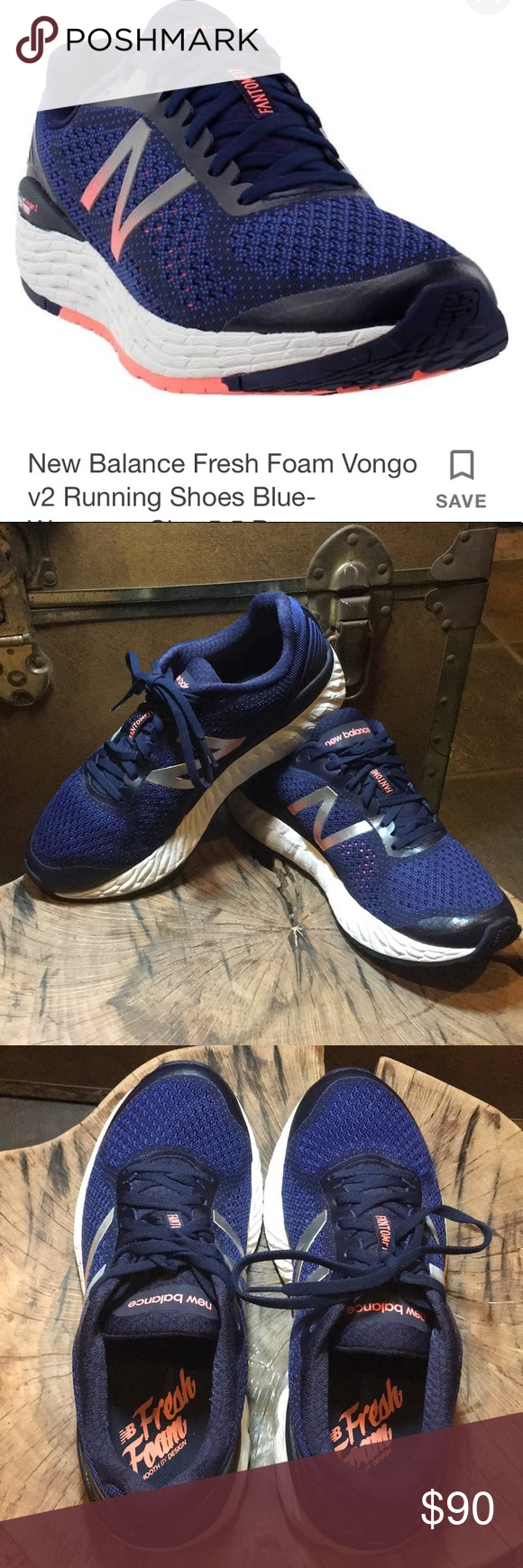 New Balance Fresh Foam Vongo 2 Stability Shoes New Balance Fresh Foam New Balance Shoes Road Running Shoes