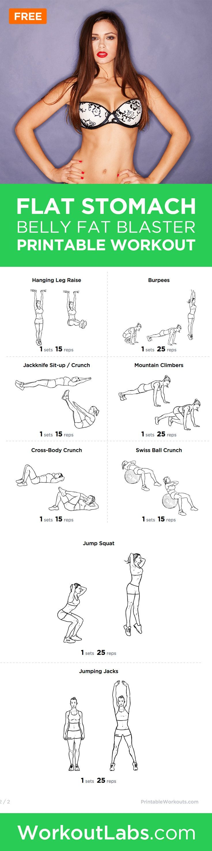 How to lose weight off your belly and bum image 7