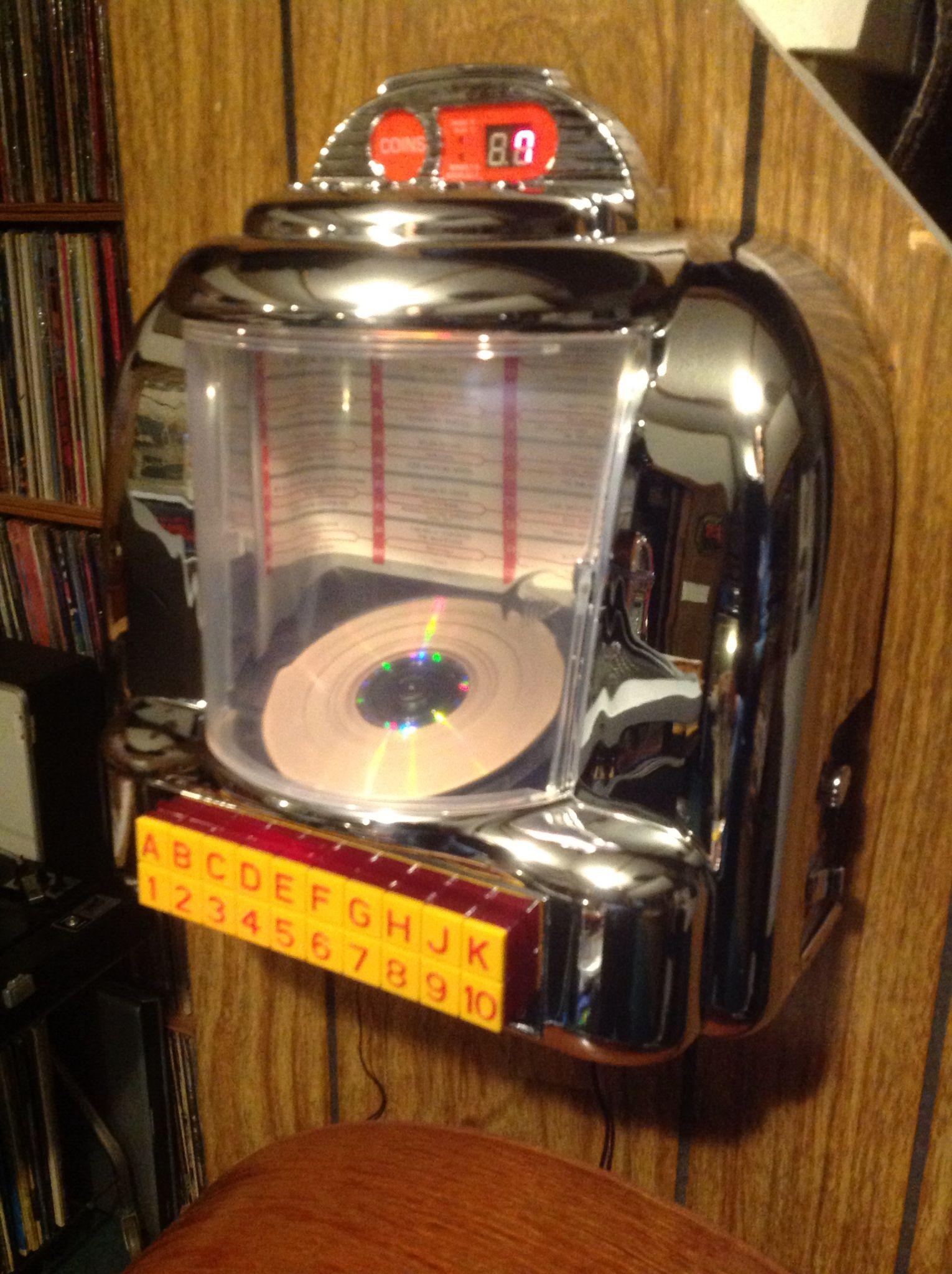 Tim's Wallbox Jukebox CD Player