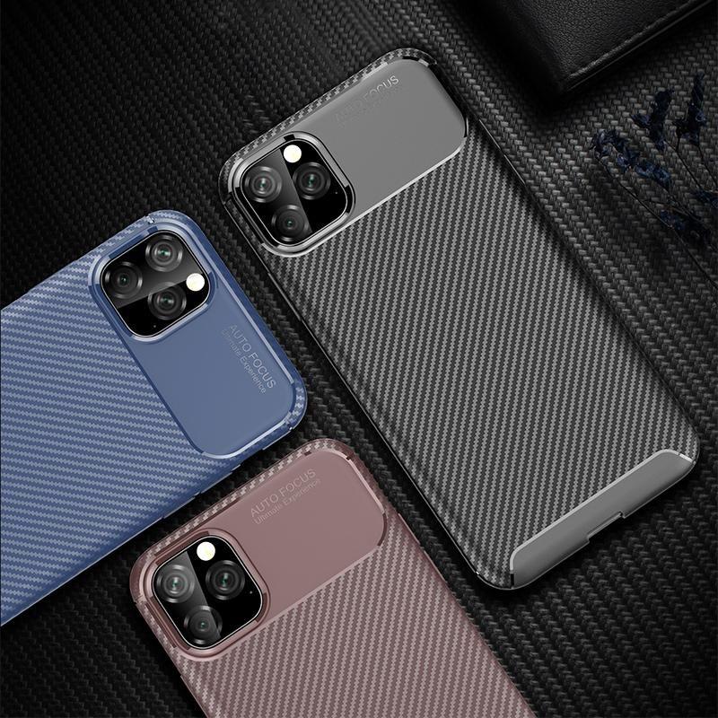 Carbon fiber case for iphone 11 pro max s a