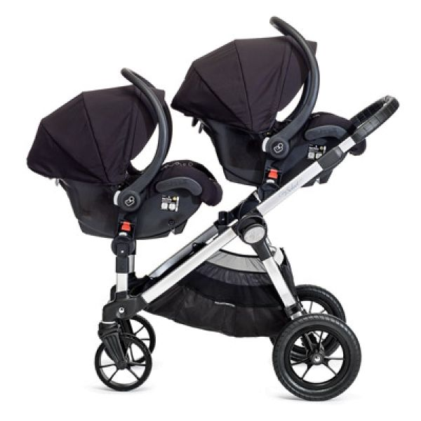 updated city select double stroller with free second seat 47999 - Double Stroller Frame