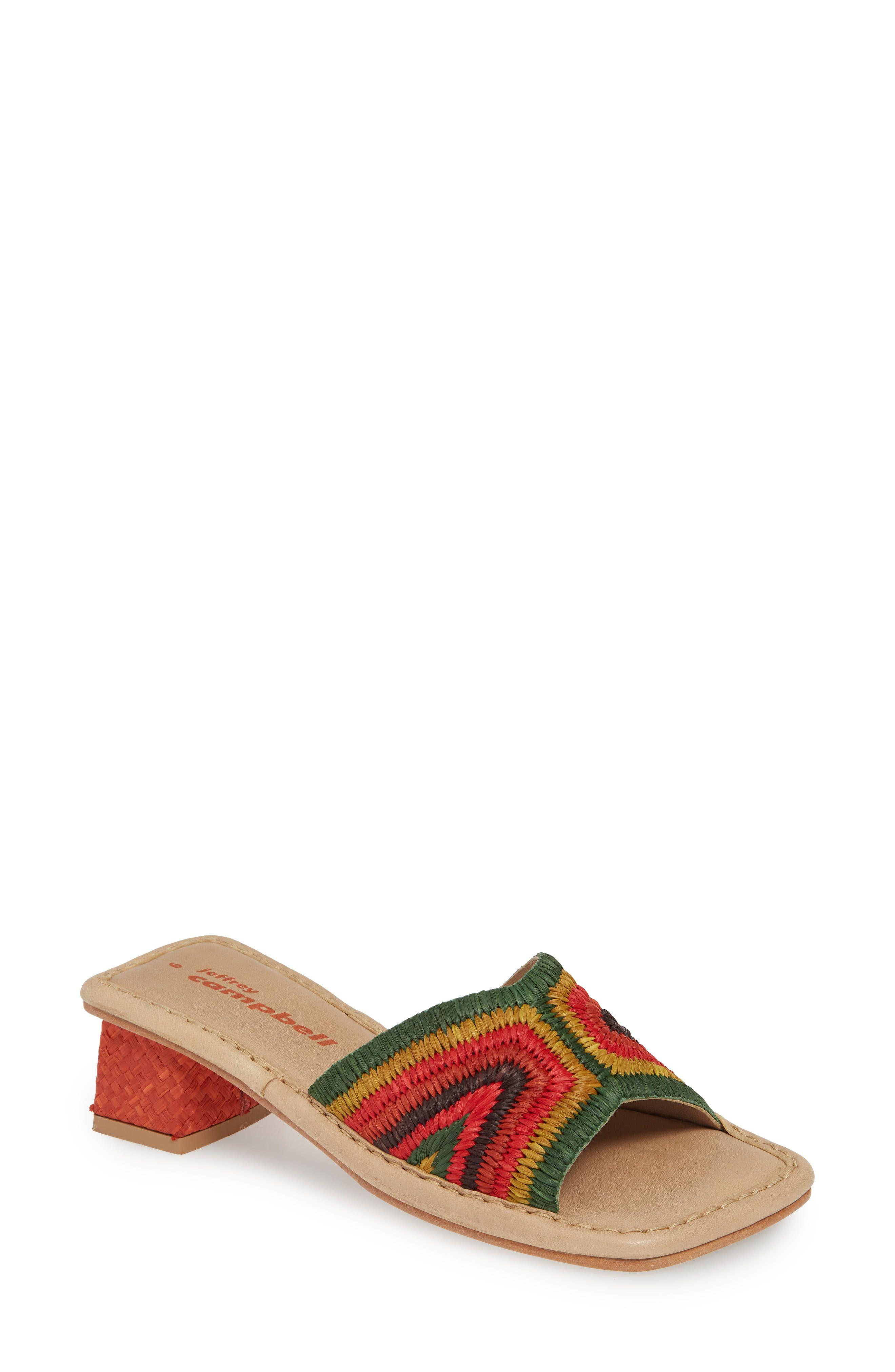 Women's Jeffrey Campbell Kaelan Slide Sandal, Size 8.5 M