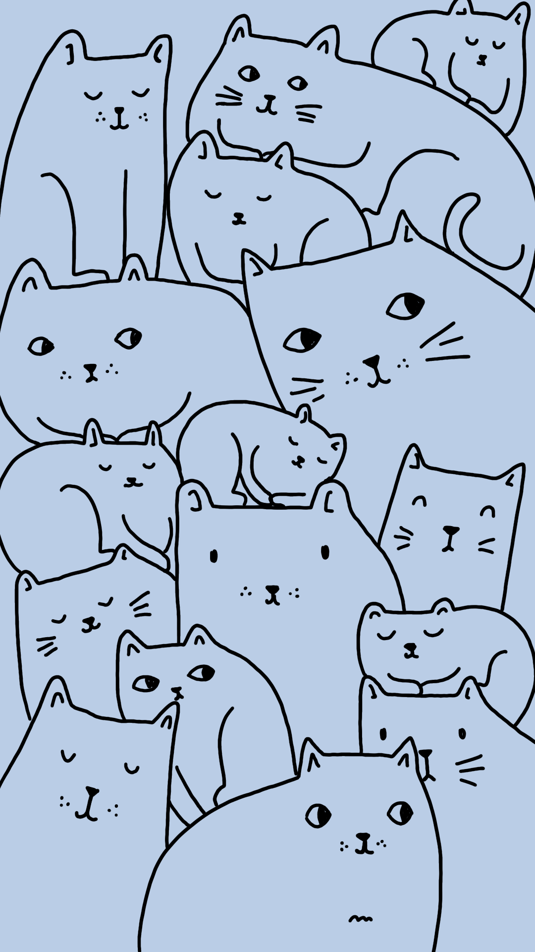 Kitty crowd | Keely Reyes
