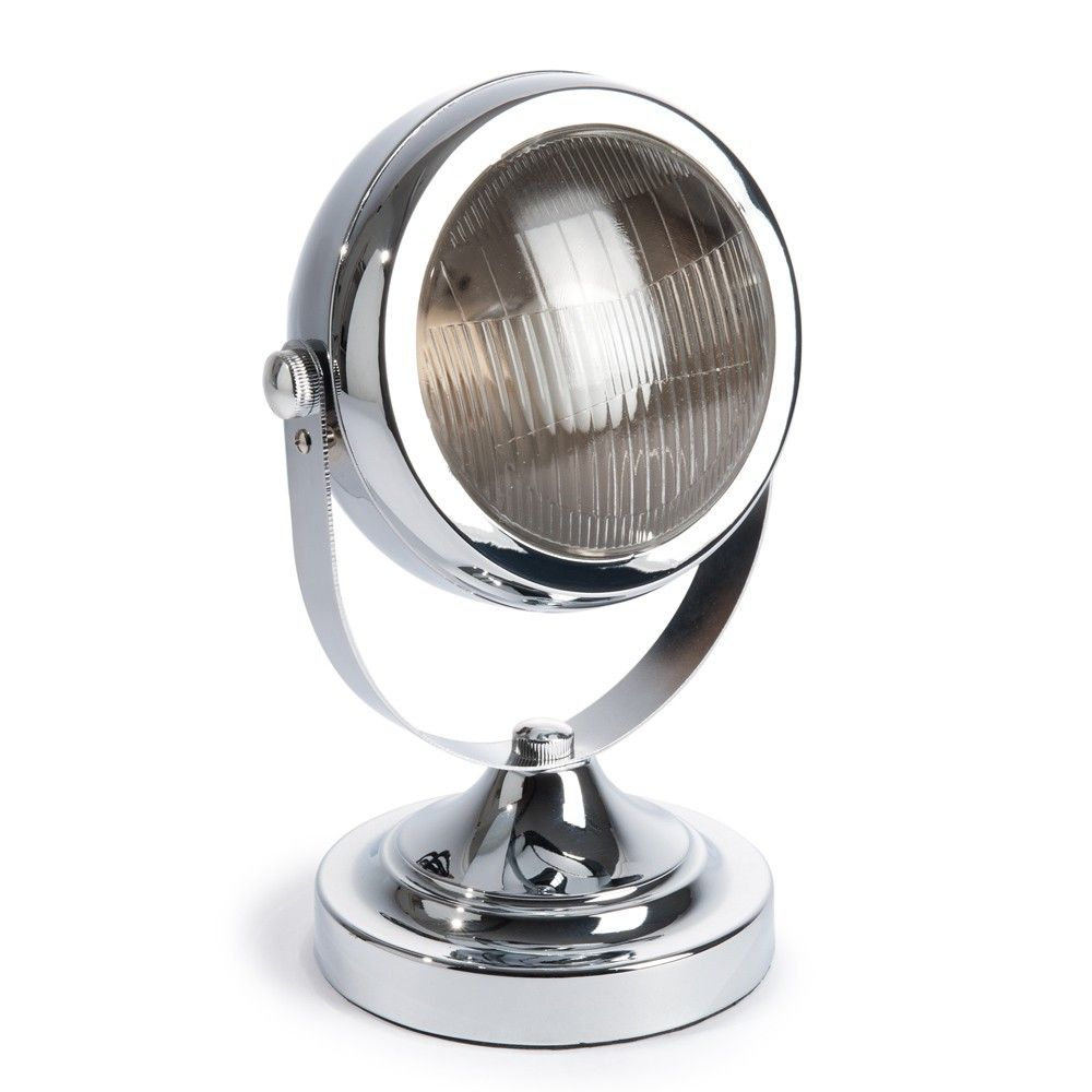 maisons du monde lampe car eye chrome misc. Black Bedroom Furniture Sets. Home Design Ideas