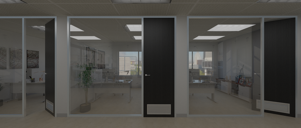 Office Doors And Office Partitions By Affordable Fitouts, Melbourne