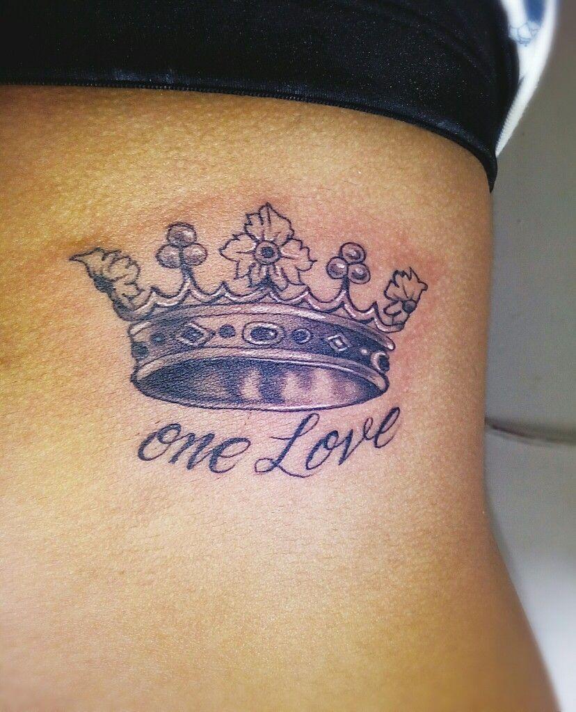 Corona Tattoo One Love Tatuajes Coronas
