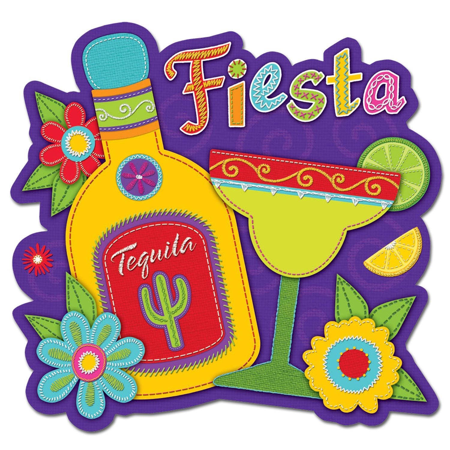fiesta wall decorations cutouts - Google Search | Mexican Fiesta ...