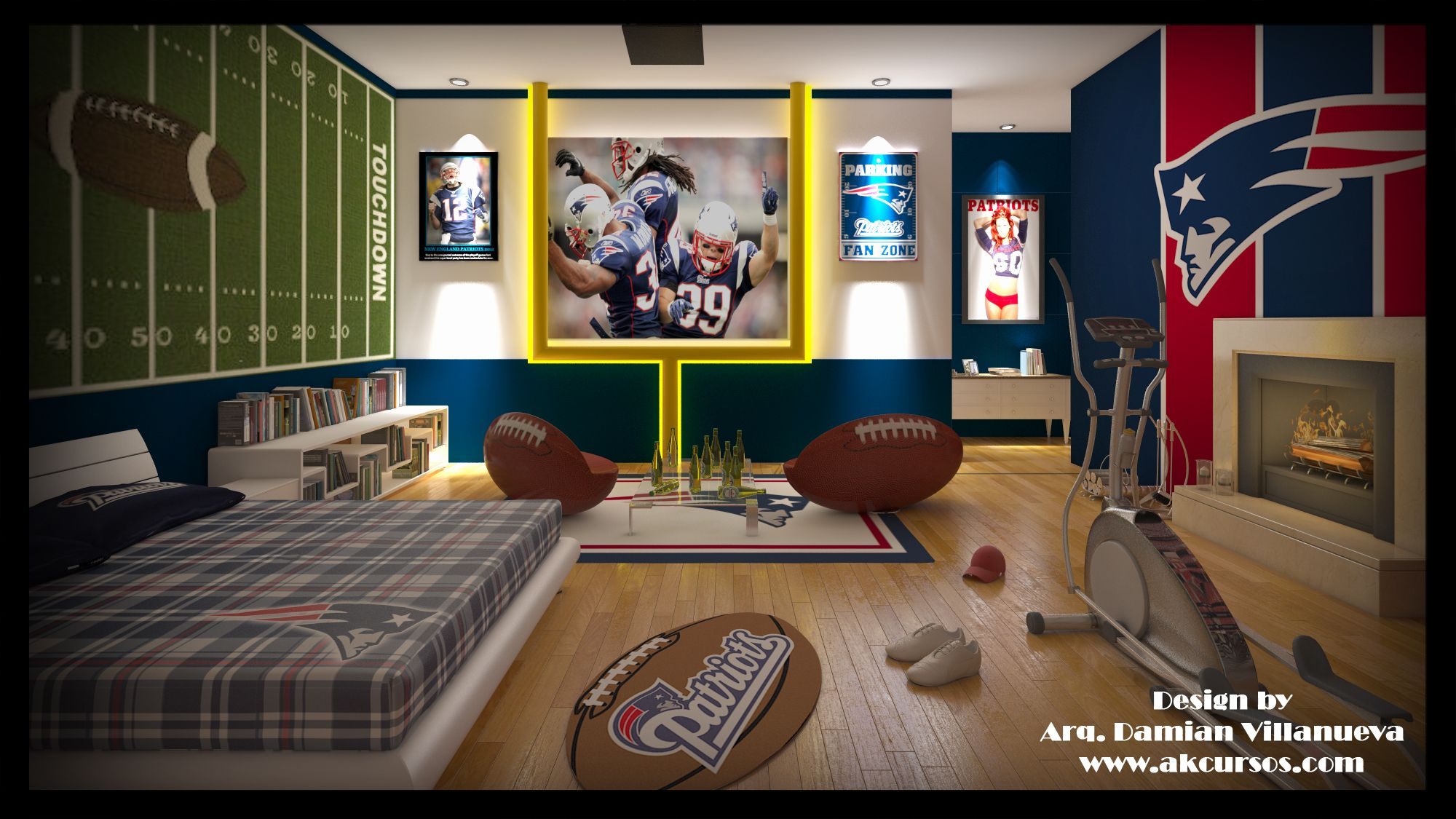 Oh my goodness wonder what luke would say if he came - New england patriots bedroom accessories ...