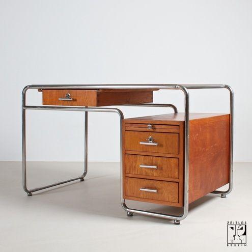 Schreibtisch Im Stil Der Bauhaus Moderne Furniture Disenos De