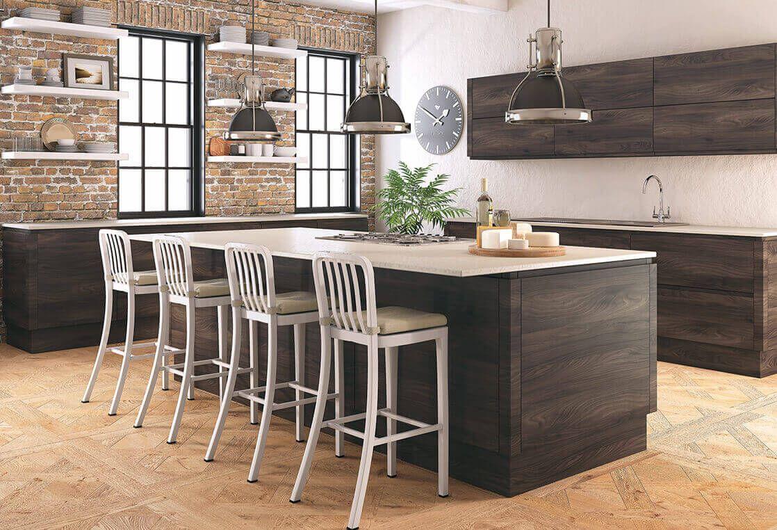 Jura collection Highquality ultramatt effect dark wood