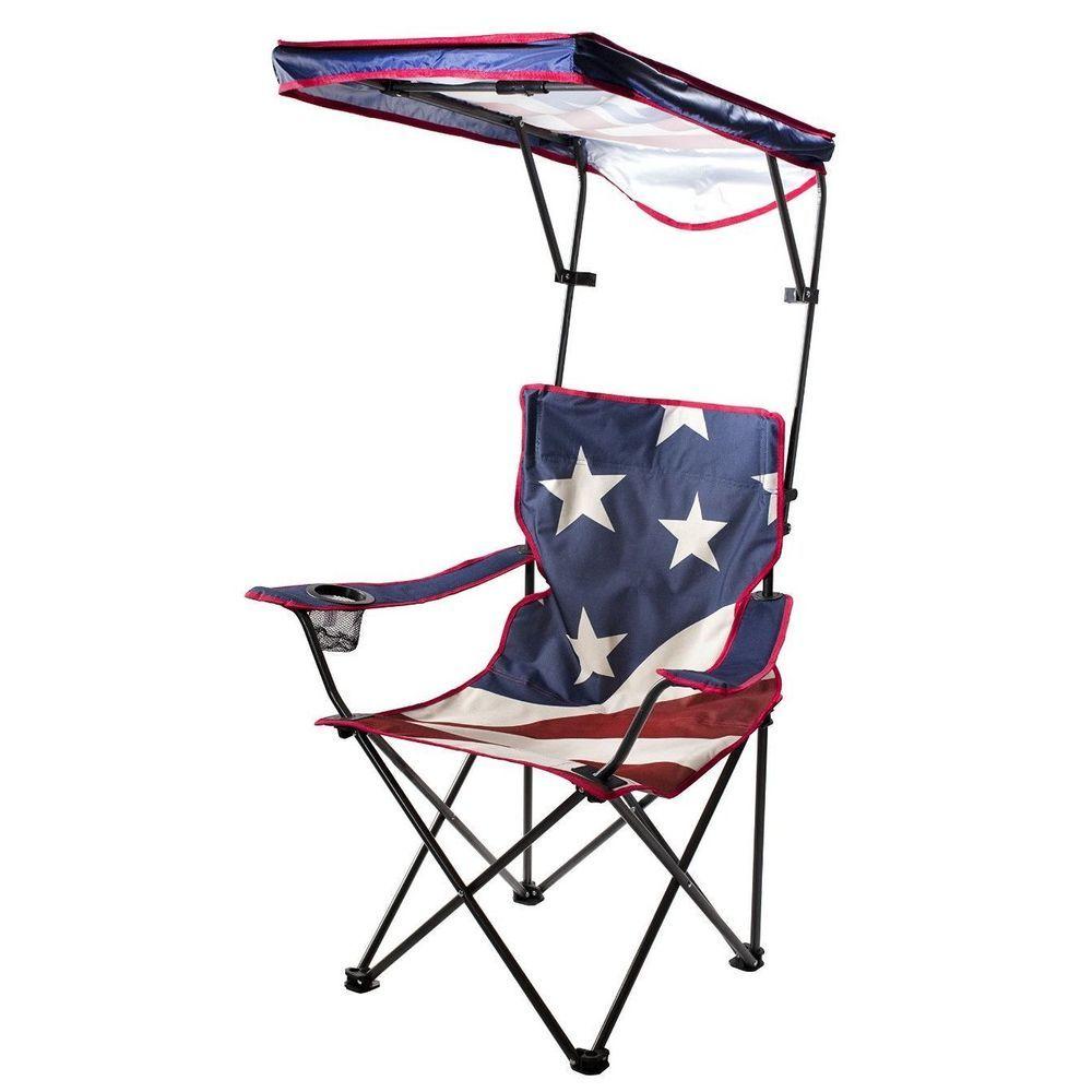 Outdoor Canopy Chair Folding Sport C&ing Picnic Portable Garden Seat Sun Shade #QuickShadeGardenSeat  sc 1 st  Pinterest & Outdoor Canopy Chair Folding Sport Camping Picnic Portable Garden ...