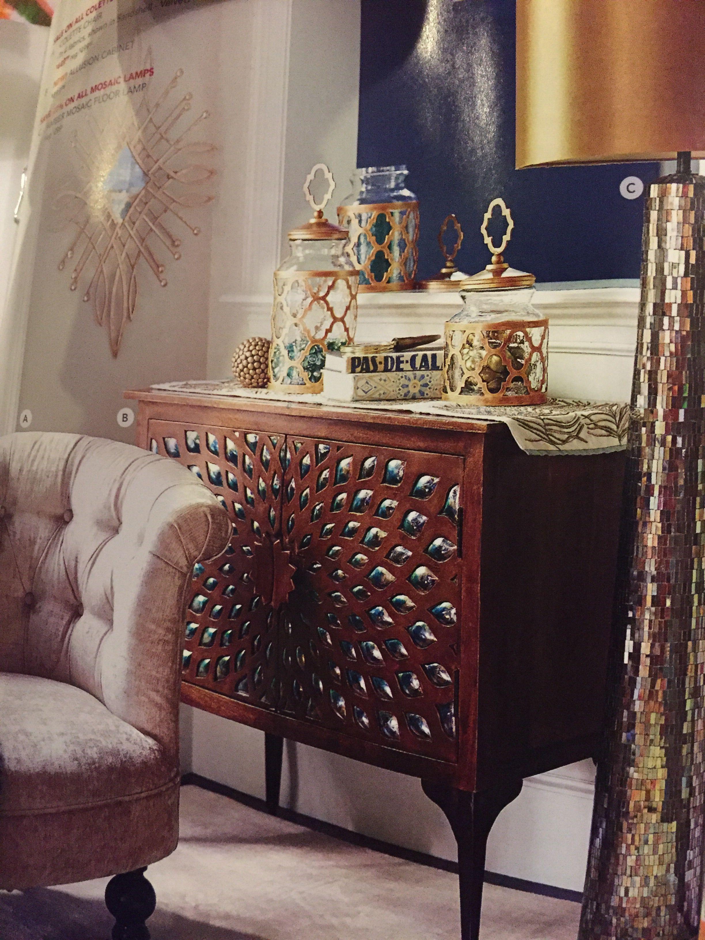 Pier 1 Allusion Cabinet | Home Ideas | Pinterest