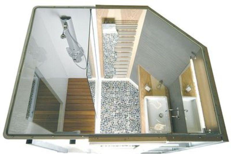salle de bain bois et galet salle de bain et douche pinterest salle de bain bois galets. Black Bedroom Furniture Sets. Home Design Ideas