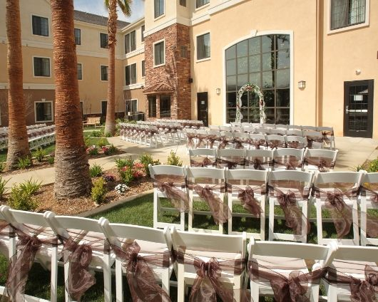 Southern California Wedding Venue: Charming lawn and patio ...