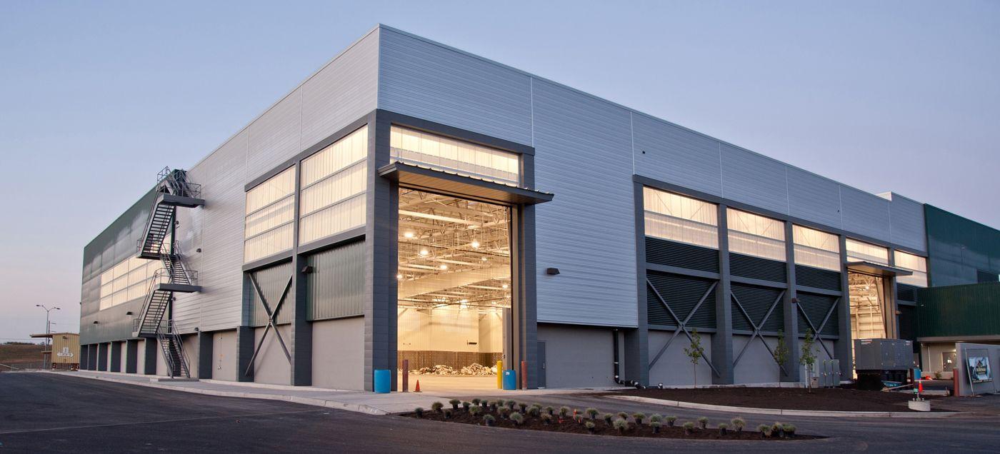 Jedunn Tacomatransfercenter Big Jpg 1400 636 Metal Building Designs Pre Engineered Metal Buildings Industrial Architecture