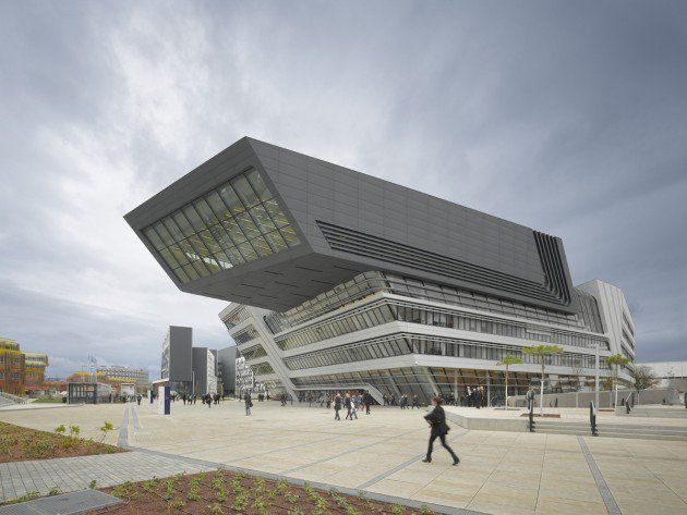 Library and Learning Centre University of Economics in Vienna, Austria