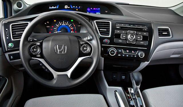 2013 Honda Civic Interior Honda Civic Honda Honda Civic Sedan