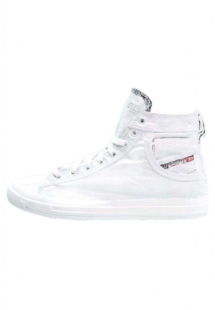 Damen Diesel EXPOSURE IV W Sneaker high white   Sneaker Damen ... c2877eb40a