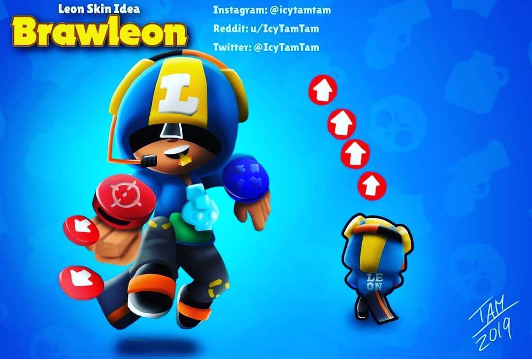 Brawlstars Leon Skinidea Fondos De Pantalla Juegos Personajes De Videojuegos Fondos De Pantalla De Juegos