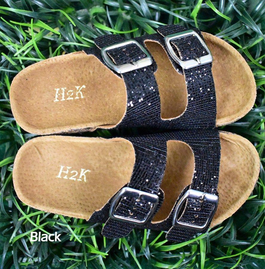 c1f45e2aeb18 Kids Sparkle Two-Strap Sandals. Little Glitter Sparkle Sandals .....Seriously!