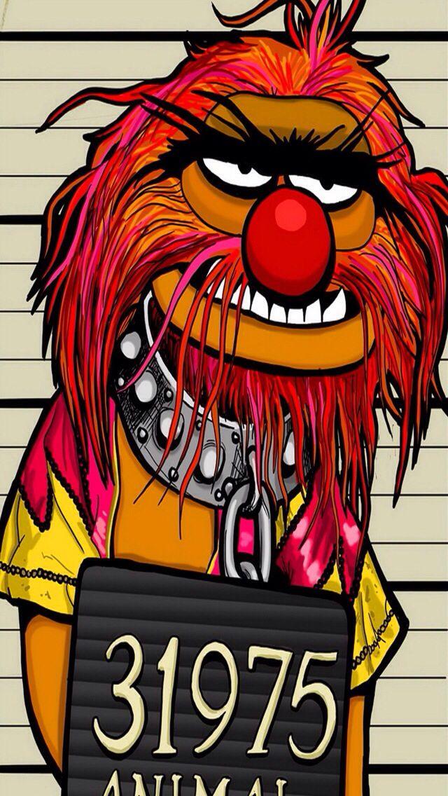 The Animal Muppets Mugshot Animal Muppet Classic Cartoon Characters Muppets
