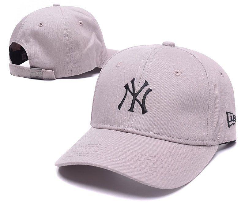 77855457092d7 Men s   Women s New York Yankees New Era Basic Team Logo Embroidery  Adjustable Baseball Hat -