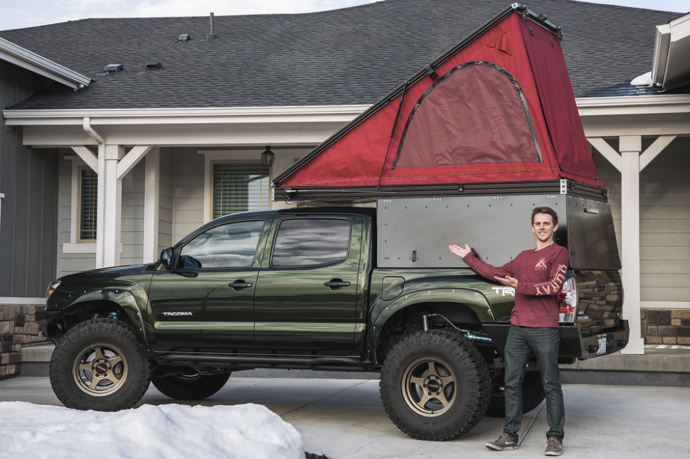 How to DIY Wedge Camper in 2020 Small truck camper