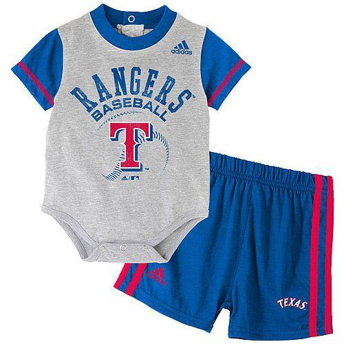fac67c2eb Texas Rangers Infant Little Slugger Short | Love | Mlb, Baby boy fashion