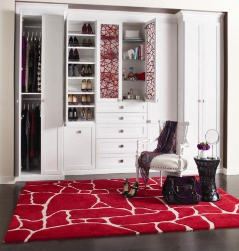 Beautiful custom reach-in closet by California Closets Toronto