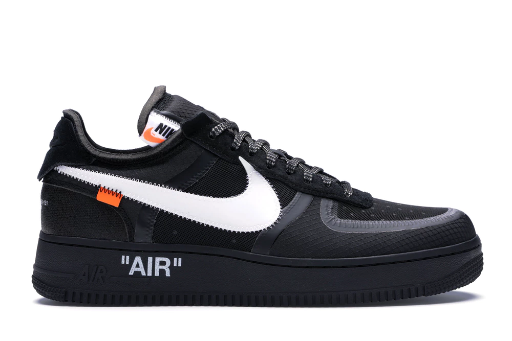 Nike Force 1 Low Off-White Black White - #1 #Black #Force ...