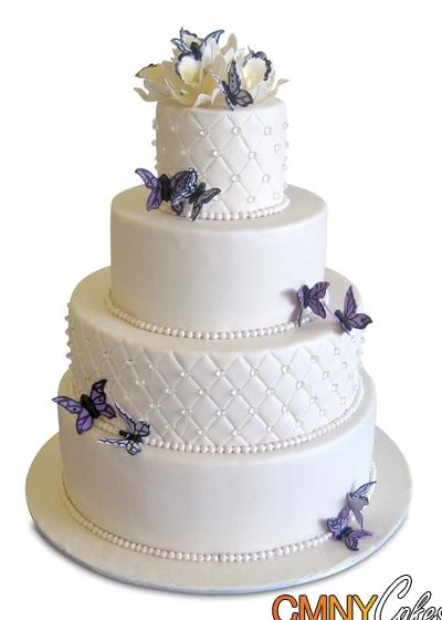 Wedding Cakes With Diamonds