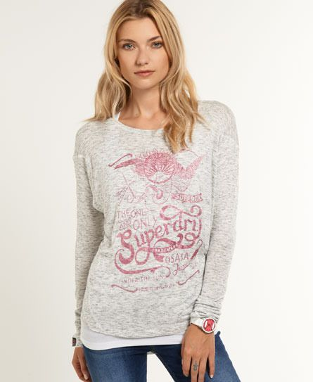 Shop Superdry Womens Fashpack Top in Blackened Winter. Buy now with free  delivery from the Official Superdry Store.