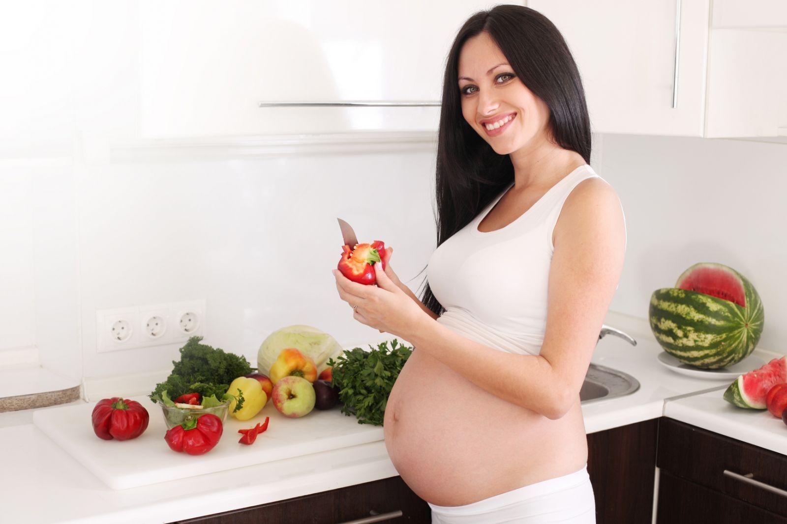 Какая нужна диета беременной женщине