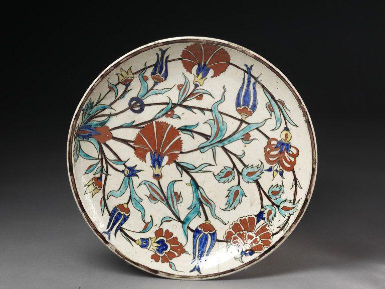 Dish  Date: ca. 1875-1892  Place: Turkey Kütahya