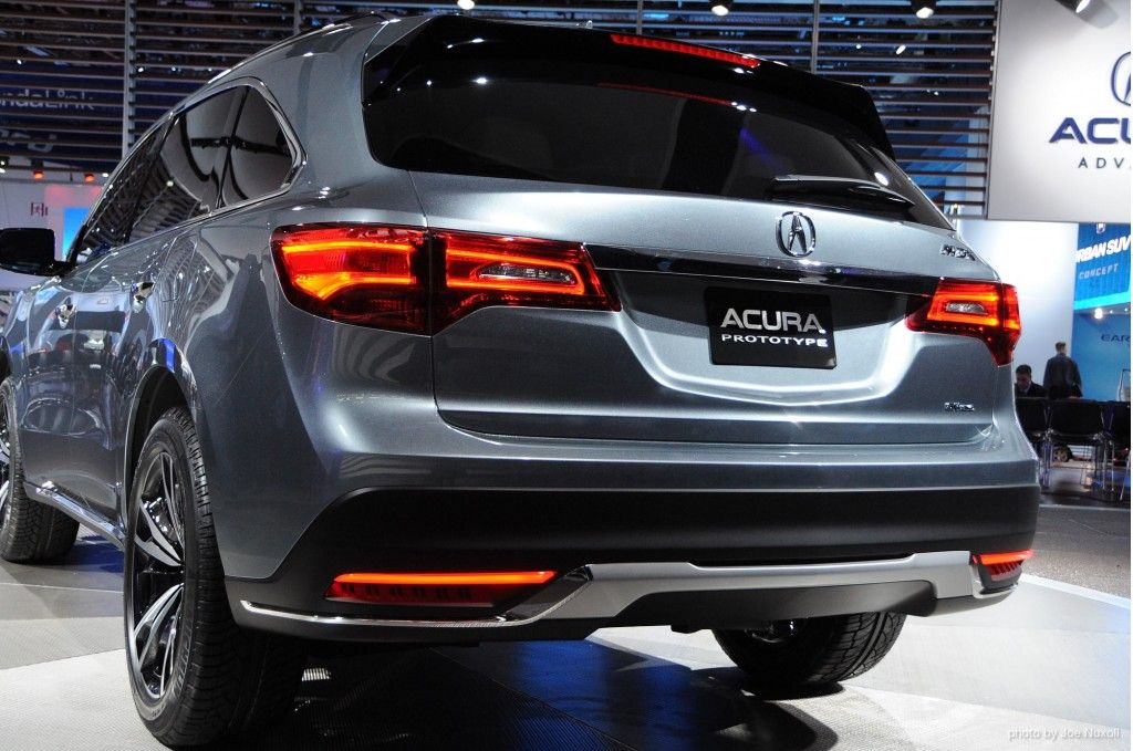 front quarters three mdx price acura bump gets news modest