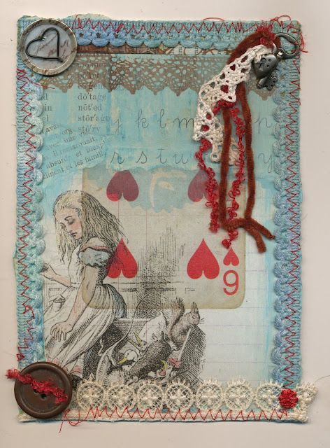 Alice With Hearts Art Sketchbook Alice In Wonderland Gcse Art