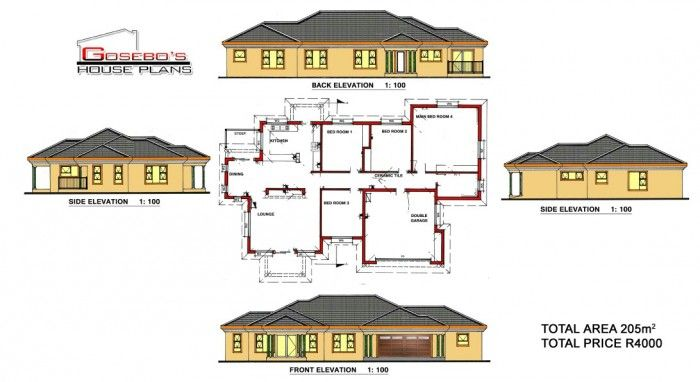 Our designs (With images) | House plans, My house plans ...