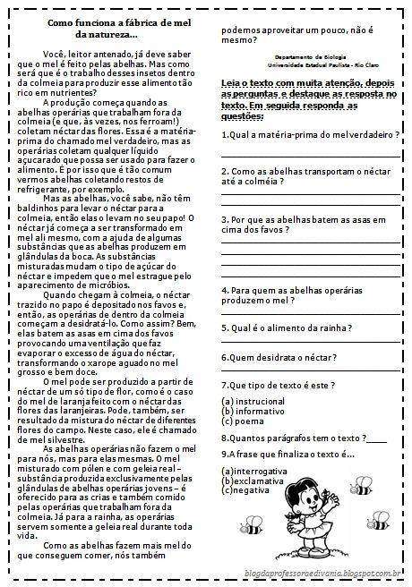 Pin De Ines Em Escola Em 2020 Atividades De Compreensao