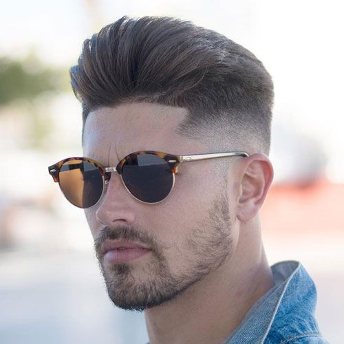 25 Modern Hairstyles For Men 2018 | Pompadour fade, Pompadour and Facial  hair