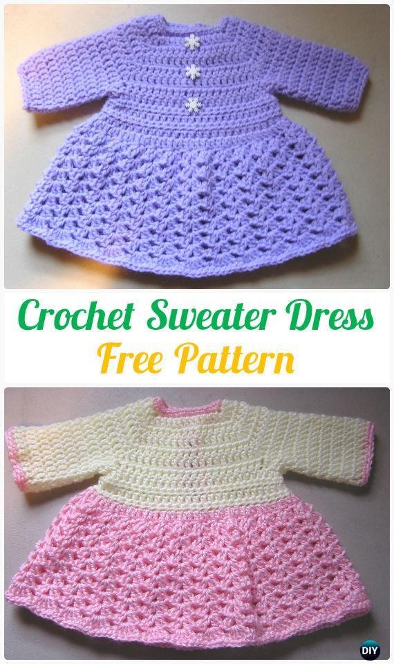 15 Crochet Kids Sweater Tops Free Patterns Crochet And Knitting