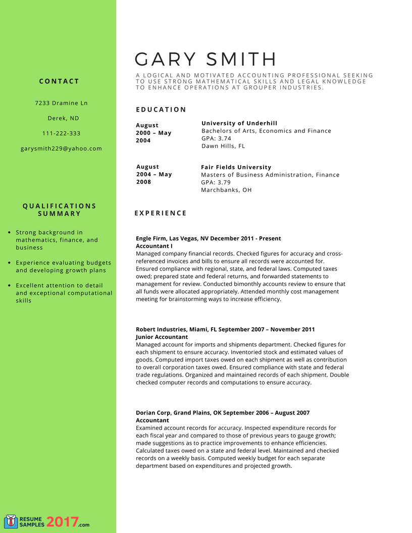 pin on resume and cover letter samples