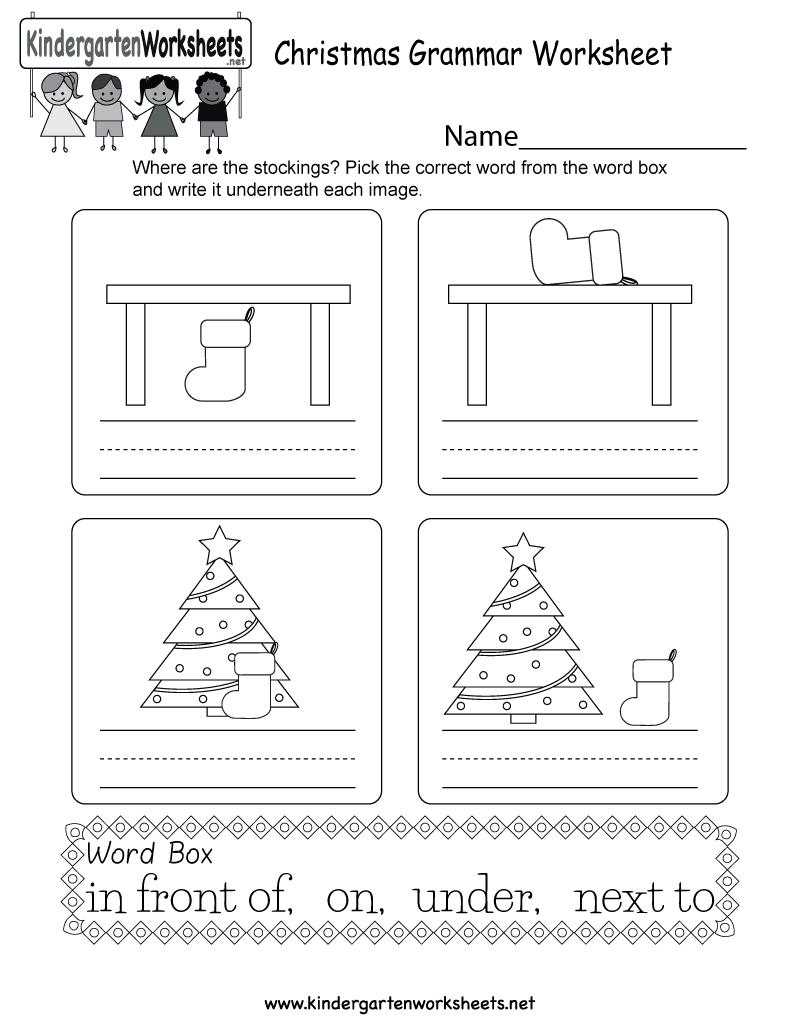Pin By Tanuja Rana On Book Grammar Worksheets Christmas Worksheets Kindergarten Christmas Worksheets [ 1035 x 800 Pixel ]