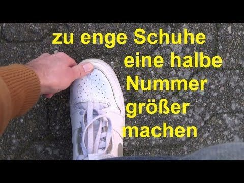Shoes wide make a size bigger tight shoes push wide shoes  Y   Tipps