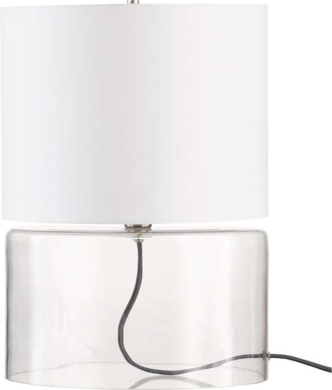greyline table lamp in view all lighting | CB2 | Table ...