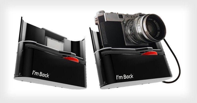 VINTAGE Konica BIG MINI Telecamera Pubblicità pin badge.