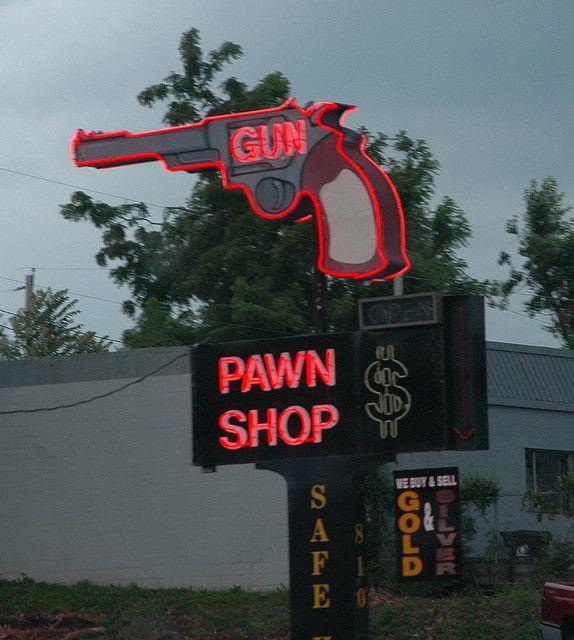 neon gun pawn shop - Springfield, Missouri | Flickr - Photo Sharing!