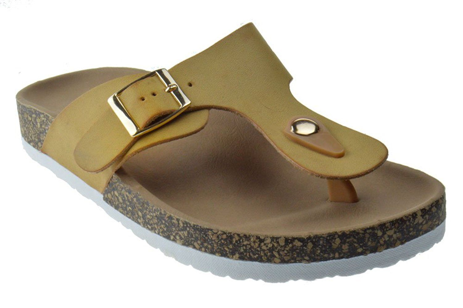comfort womens sandal predictions plus women brown s by payless slide percy comforter sandals