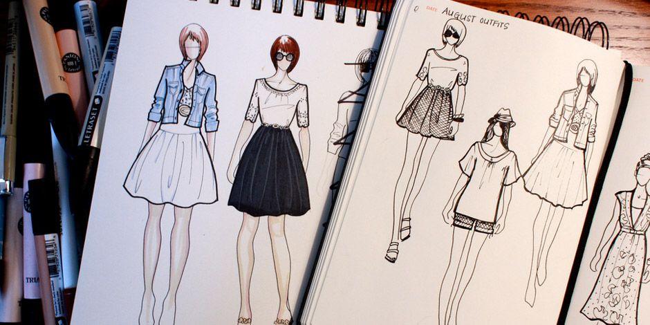 Poll Fashionary Fashion Sketches Sketch Book Fashion Drawing