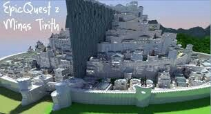 Epicquest Z Mings Tirith Epic Minecraft Structures Minecraft