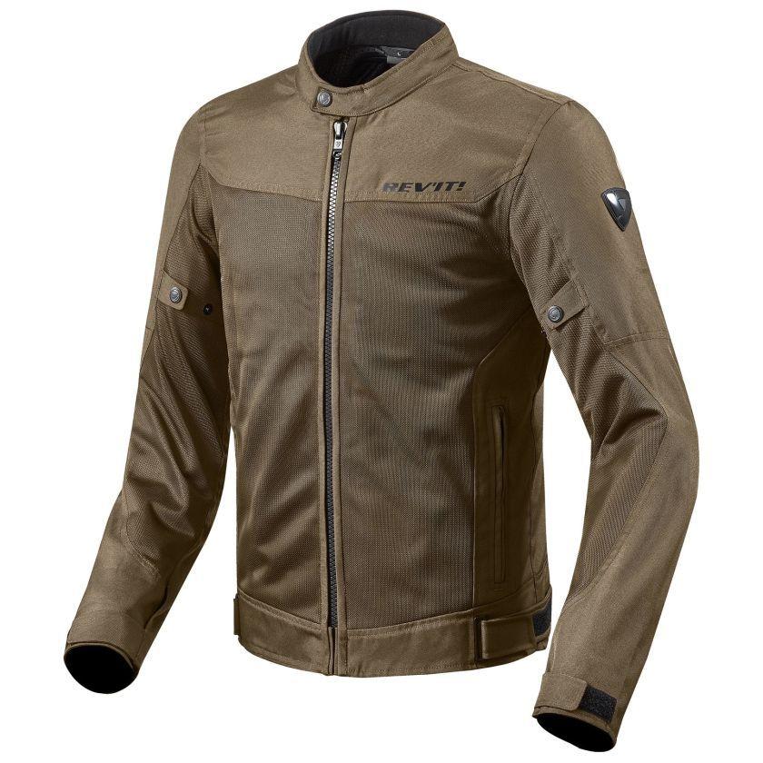 Revit ECLIPSE Herren Motorrad Textiljacke Touring braun